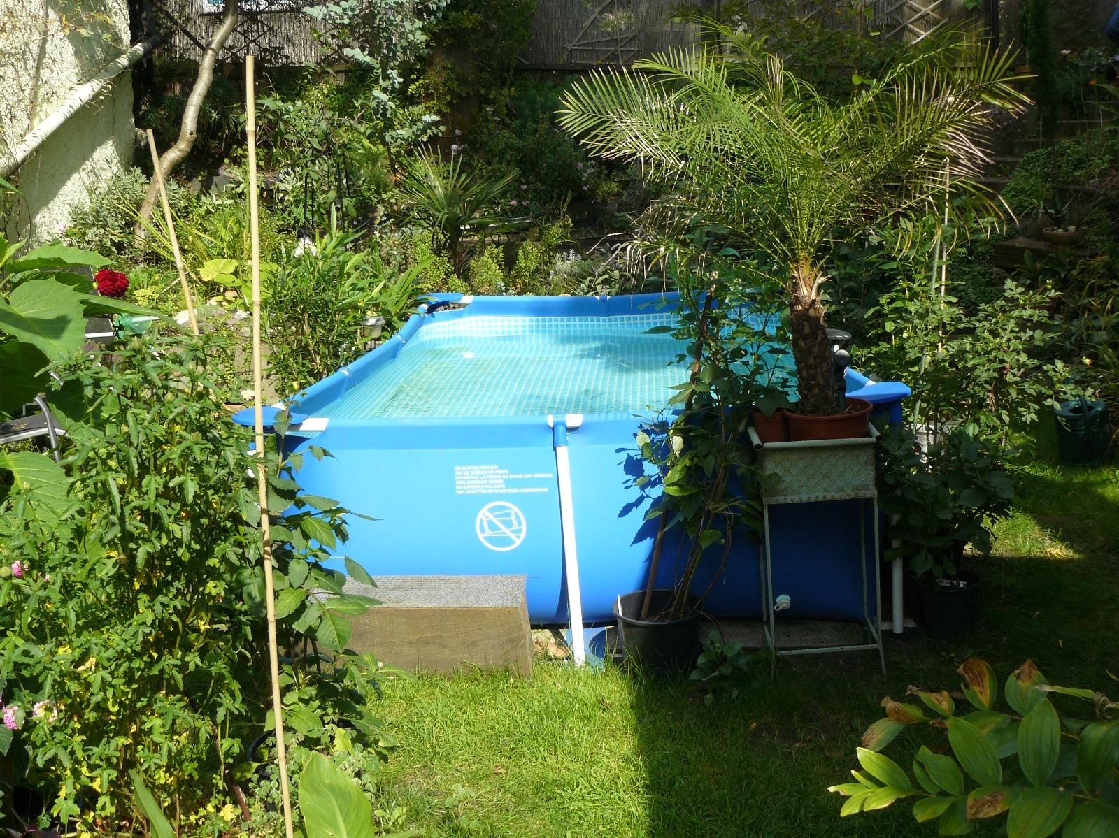 Pool auf rasen stellen galerie von wohndesign for Obi sandfilteranlage pool