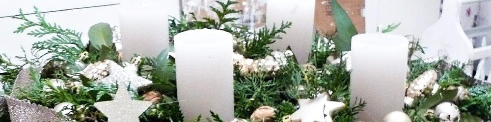 Adventsgesteck DIY