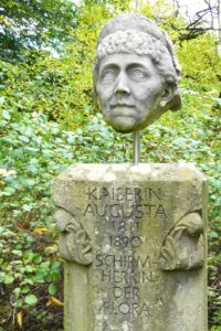 Kaiserin Augusta Büste Flora Botanischer Garten Köln