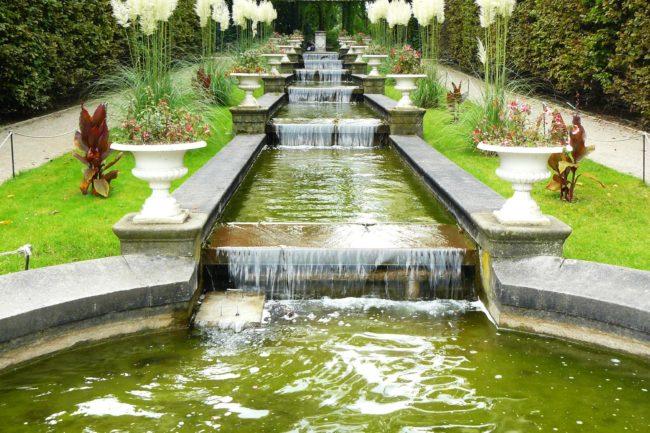 Wassertreppe Flora Botanischer Garten Köln