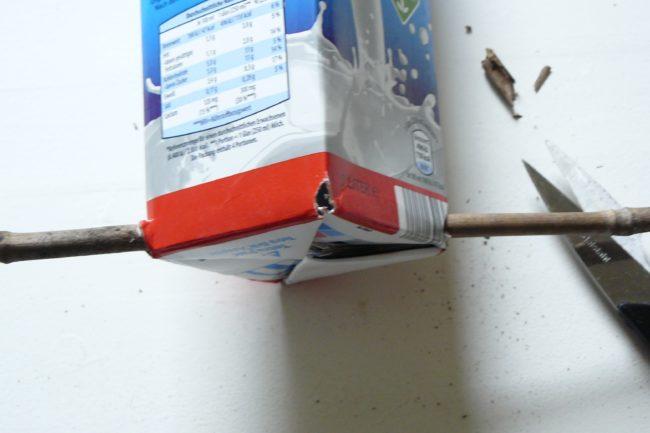 Vogelfutterspender selber bauen