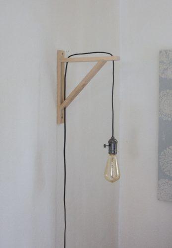 Wandlampe DIY