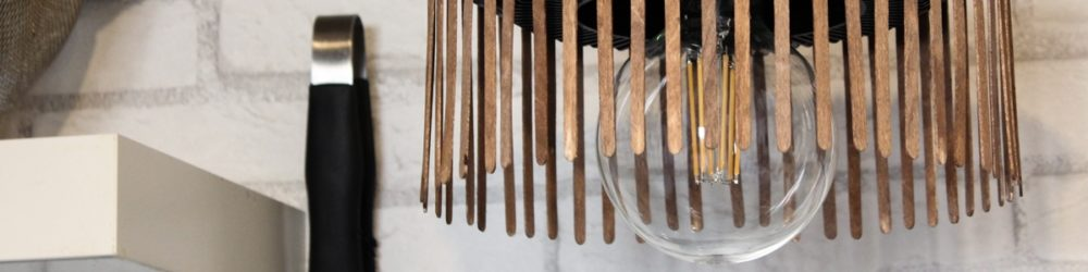 Lampe im Industriestyle DIY