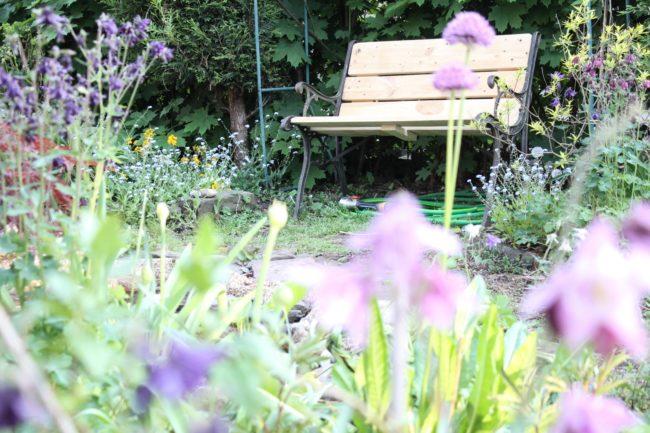 Gartenbank DIY