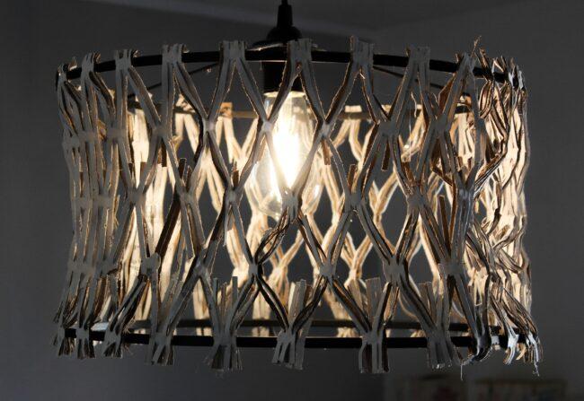 Schlafzimmerlampe DIY